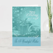 Christmas To Mother Greeting Card