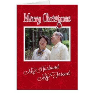 Christmas, to My Husband - Photo card template