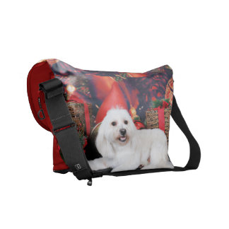 Christmas - Toby - Mixed Breed Courier Bag