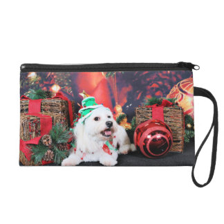 Christmas - Toby - Mixed Breed Wristlet