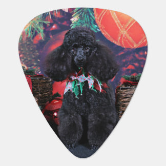 Christmas - Toby - Poodle Guitar Pick