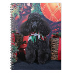 Christmas - Toby - Poodle Notebook