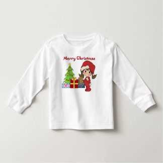 Christmas Toddler Girl Toddler Long Sleeve Toddler T-shirt