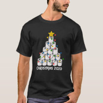 Christmas Toilet Paper Tree Funny Gift T-Shirt