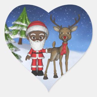 Christmas Toon Santa Baby Elf Sticker