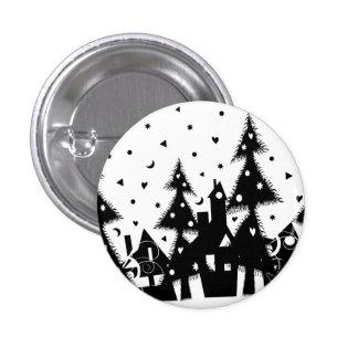 Christmas Town Pin