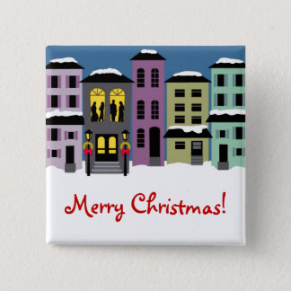 Christmas Town ~ Buttons
