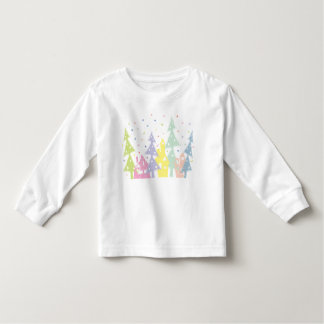 Christmas town_colour toddler t-shirt