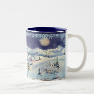CHRISTMAS TOWN CUP by SHARON SHARPE