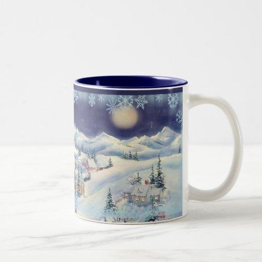 CHRISTMAS TOWN CUP by SHARON SHARPE Mug