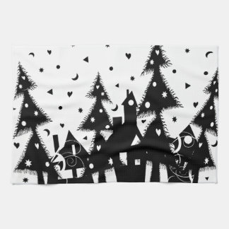 Christmas Town Kitchen Towels