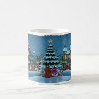 christmas town mug basic