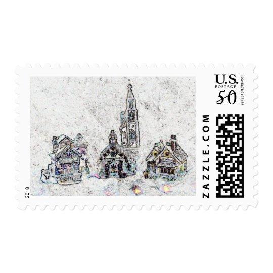 Christmas Town Postage