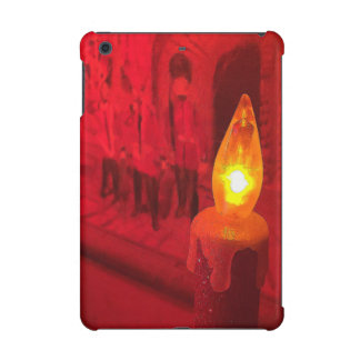 Christmas Toy Soldier And Candle iPad Mini Case