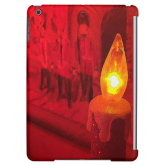 Christmas Toy Soldiers and Candle Case For iPad Air