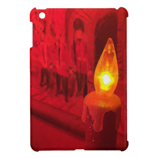 Christmas Toy Soldiers and Candle Case For The iPad Mini