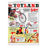 Christmas Toyland Greeting Card