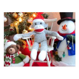 Christmas Toys Postcard