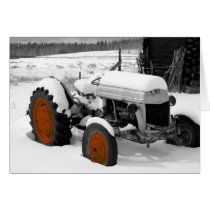 Christmas Tractor (ME) Card