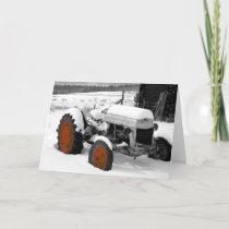Christmas Tractor (ME) Holiday Card
