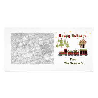 Christmas Train Holiday Photo Cards