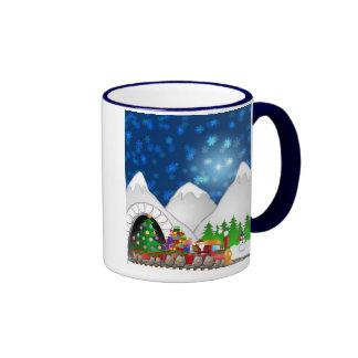 Christmas Train Mug
