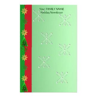 Christmas Train Stationery Design