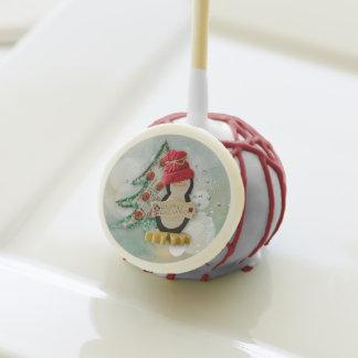 Christmas Treats Penguin Cake Pops