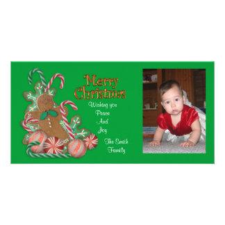 Christmas Treats Photo card