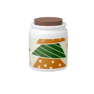 Christmas tree5 candy jar