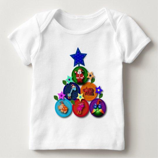 Christmas Tree 041209 Baby T-Shirt