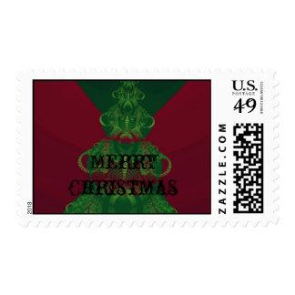 Christmas Tree 1 Postage