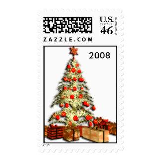 Christmas Tree 2008 Postage Stamps