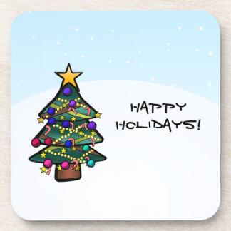 Christmas Tree 2 Beverage Coaster