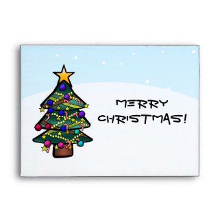 Christmas Tree 2 Envelope