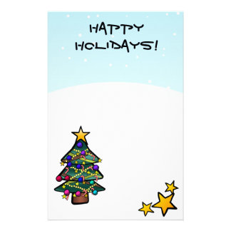 Christmas Tree 2 Stationery