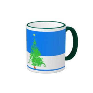 christmas tree #3 coffee mug