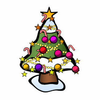 Christmas Tree 4 Cutout