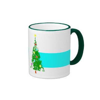 christmas tree #5 coffee mug