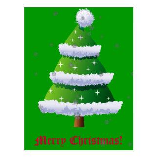 Christmas Tree 9 Postcard