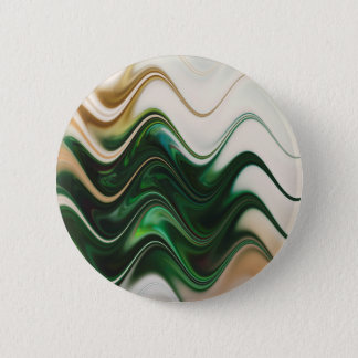 Christmas Tree Abstract Pinback Button