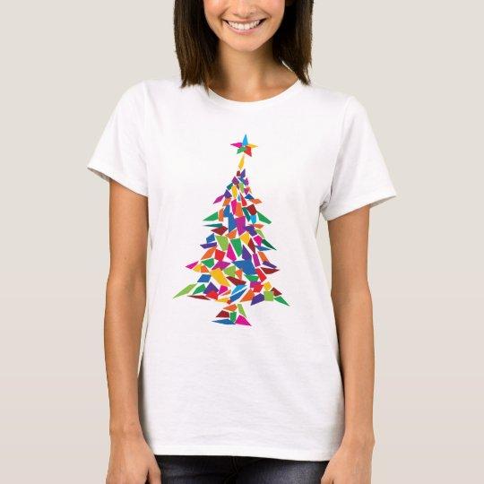 christmas tree abstract T-Shirt