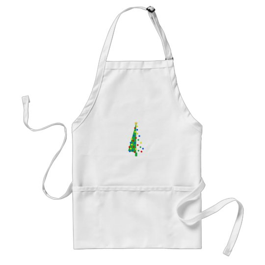 Christmas Tree Adult Apron
