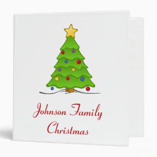 Christmas Tree Album - Customizable Binder