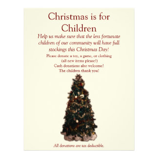 Christmas Tree - ALL text can be changed. Flyer