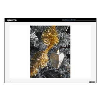 Christmas tree and Christmas decorations Decal For Laptop