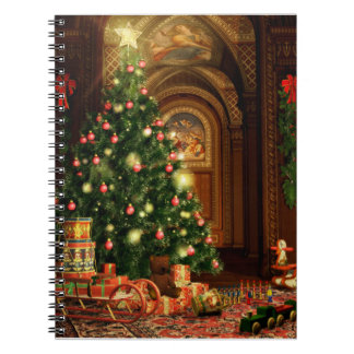 Christmas Tree and Gifts Notebook