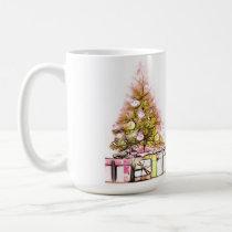 Christmas Tree and Presents Mug