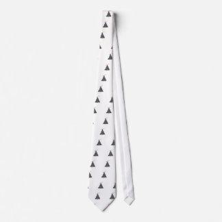 Christmas Tree Applique Tie