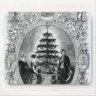 Christmas Tree at Windsor Castle, 1848 Mouse Pad